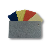 Classic Metal Sample with Fabrics - Slate