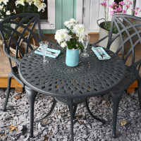 Mia Table - Slate (2 seater set)