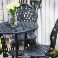 Rose Bistro Set - Slate (2 seater set)